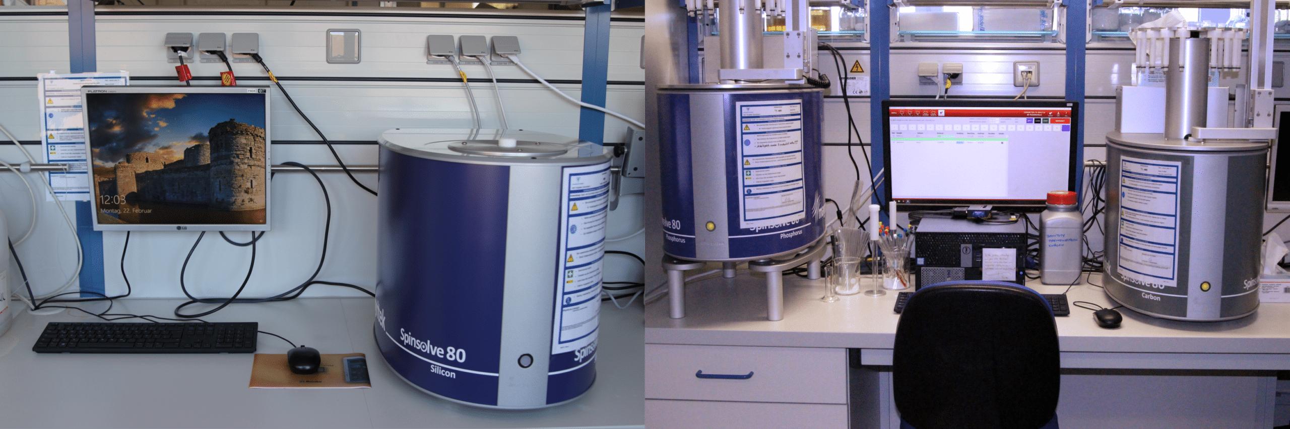 Spinsolve benchtop NMR at Zschimmer & Schwarz - Magritek